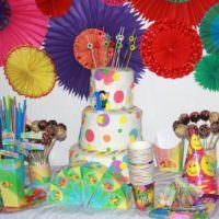 Сладкий стол на день рождения девочки