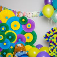 Красивые бумажные цветы своими руками на день рождения ребенка