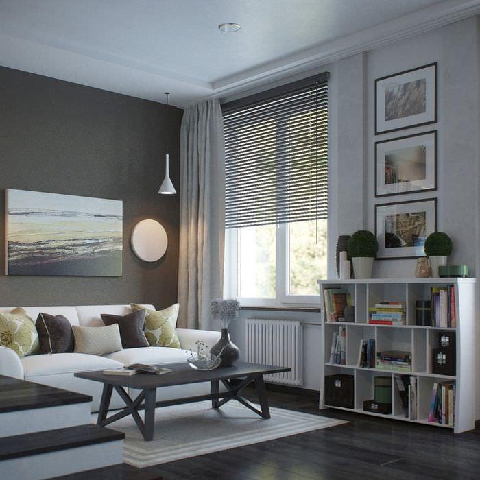 Декорирование интерьера однокомнатной квартиры