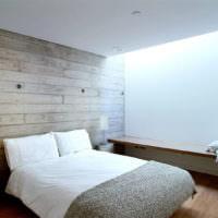 Оригинальная подсветка в спальной супругов