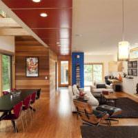 Дизайн интерьера просторной гостиной частного дома