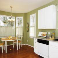 Кухня-гостиная в загородном доме