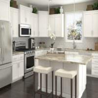 Кухонный остров в современном интерьере