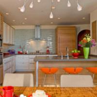 Декорирорвание стен кухни своими руками