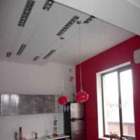 Потолок в однокомнатной квартире панельного дома