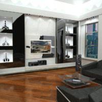 Декоративные ниши в однокомнатной квартире