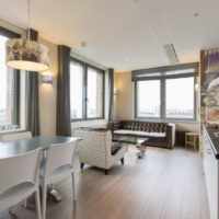 Квартира-студия площадью 40 квадратных метров