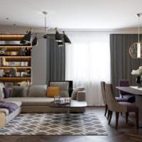 Оттенки серого в дизайне жилого помещения