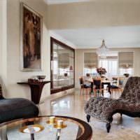 Дизайнерский интерьер жилого помещения