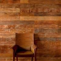 Натуральная древесина в дизайне жилой комнаты