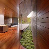 Евровагонка в дизайне интерьера жилого дома