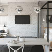 Однокомнатная квартира 37 кв м в индустриальном стиле
