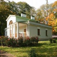 Дизайн участка в стиле русской усадьбы