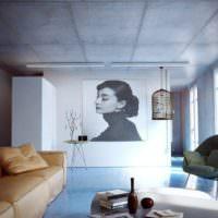 Стиль минимализма в оформлении гостиной