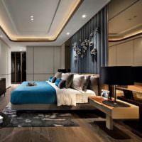 Освещение спальни в стиле модерн