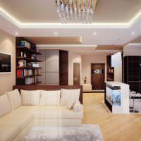 Современный дизайн квартиры для холостяка