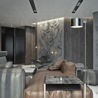 Серые тона в дизайне жилого помещения