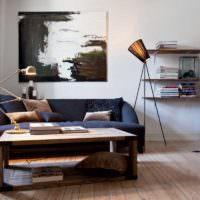 Интерьер мужского жилища в современном стиле