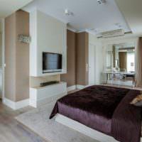Спальня для молодого человека в современном стиле
