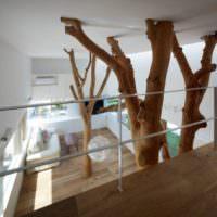 Деревья в дизайне интерьера дома