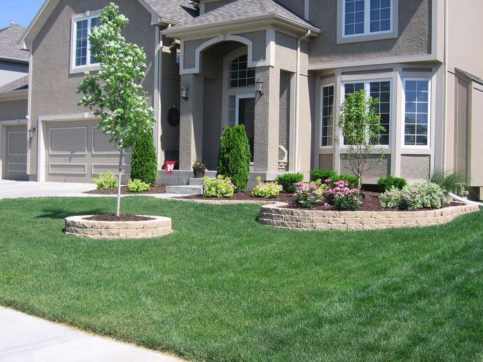 ней красивые площадки перед домом фото капусты
