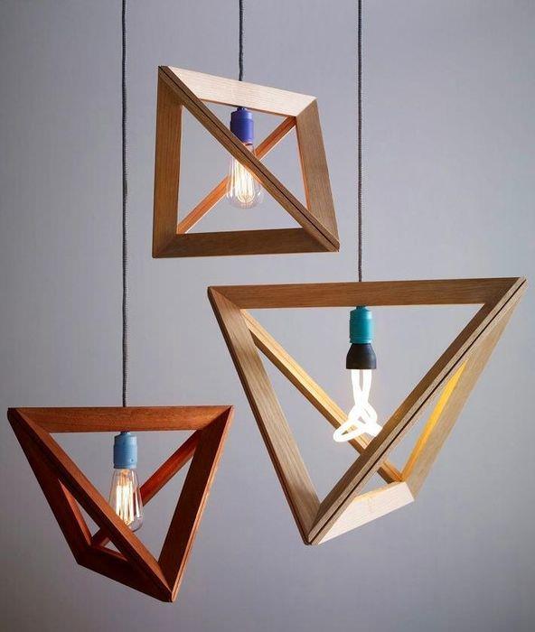 Дизайн светильников для освещения рабочего пространства комнаты