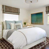 Дизайн спальни в деревенском стиле