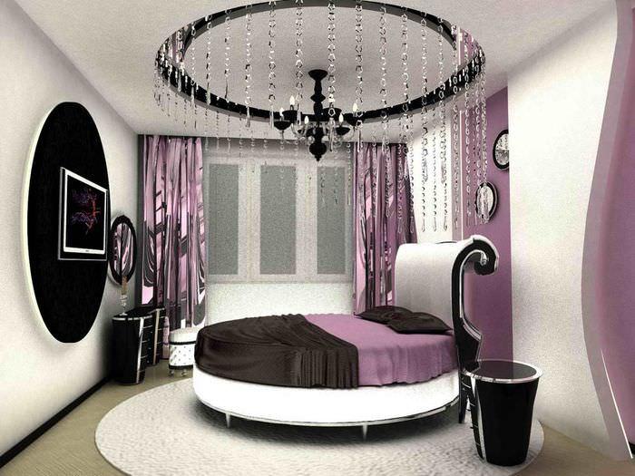 зови фото дизайна спален с круглой кровати проверка причастность его