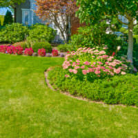 Цветочные клумбы в ландшафтном дизайне сада