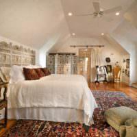 Отделка спальной комнаты в восточном стиле