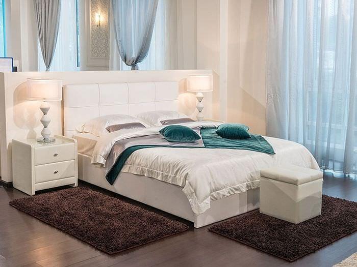 сладкого спальный гарнитур с мягкой кроватью фото русская