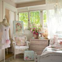 Розовая спальня для девочки подростка