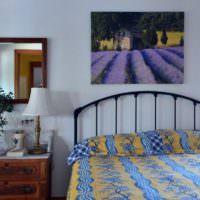 Все оттенки синего цвета в интерьере спальни