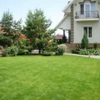 Английский газон в ландшафтном дизайне загородного дома