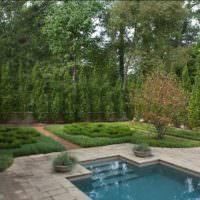 Загородный сад в английском стиле