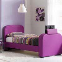 Стильная детская комната с красивой кроваткой