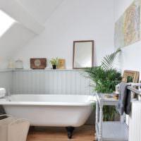 Убранство ванной в стиле прованс