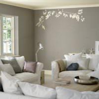 Пастельные оттенки в интерьере спальни