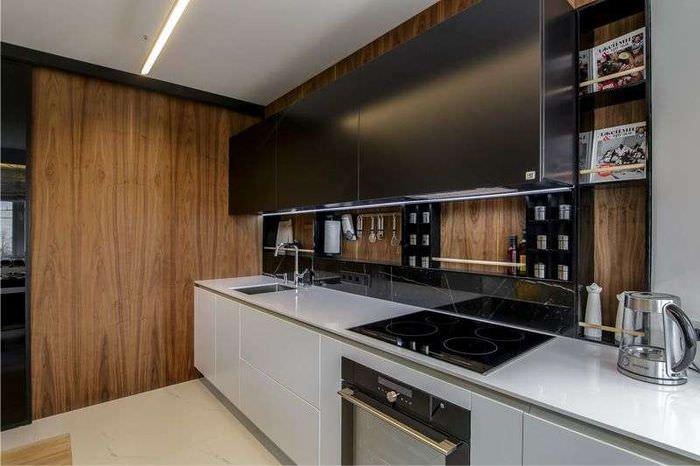 Панели МДФ в интерьере кухонного пространства