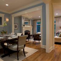 Молдинги в декорировании дизайна гостиного помещения