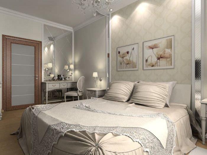 Дизайн интерьера спальной комнаты своими руками