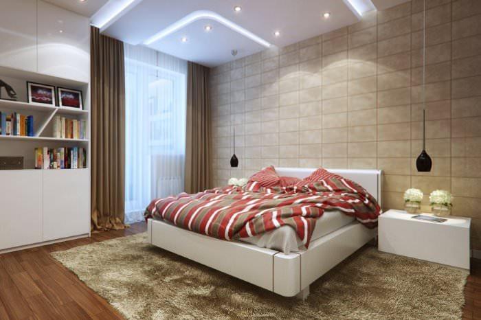 Дизайн спальни в стиле модерн своими руками