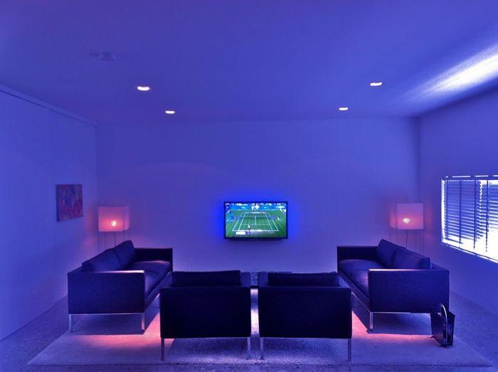 Светодиодная подсветка в дизайне освещения квартиры