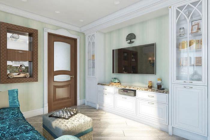 Оформление гостиной зоны в кухне-гостиной