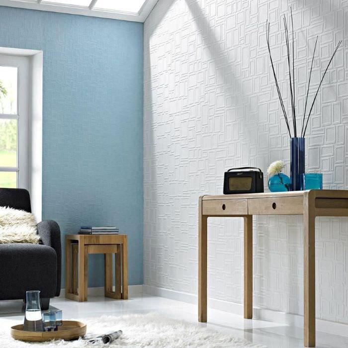 какие согласные краска на стены вместо обоев фото которое