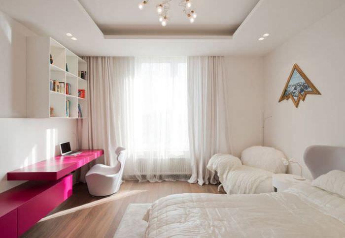 Дизайн детской комнаты в стиле минимализма