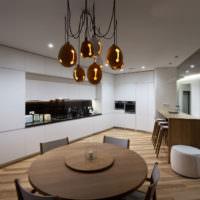 Кухонная мебель в стилистике минимализма