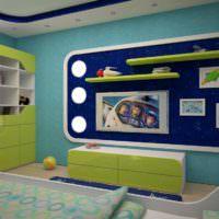 Детская мебель в космическом стиле