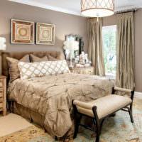 Оформление спальной комнаты в стиле классики