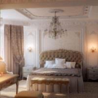 Уютный интерьер классической спальни